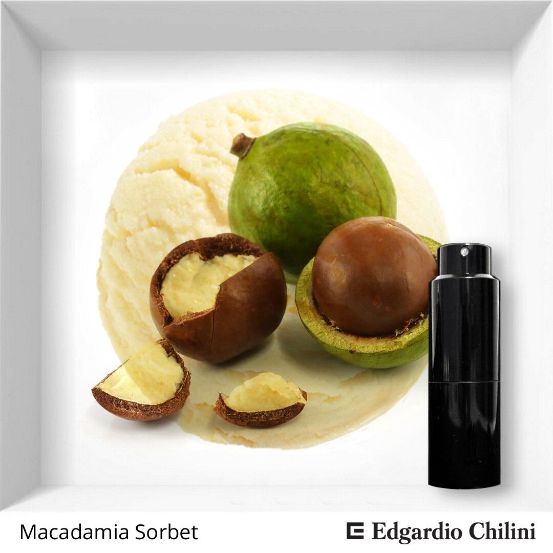 Edgardio Chilini, Macadamia Sorbet, citrus fragrance