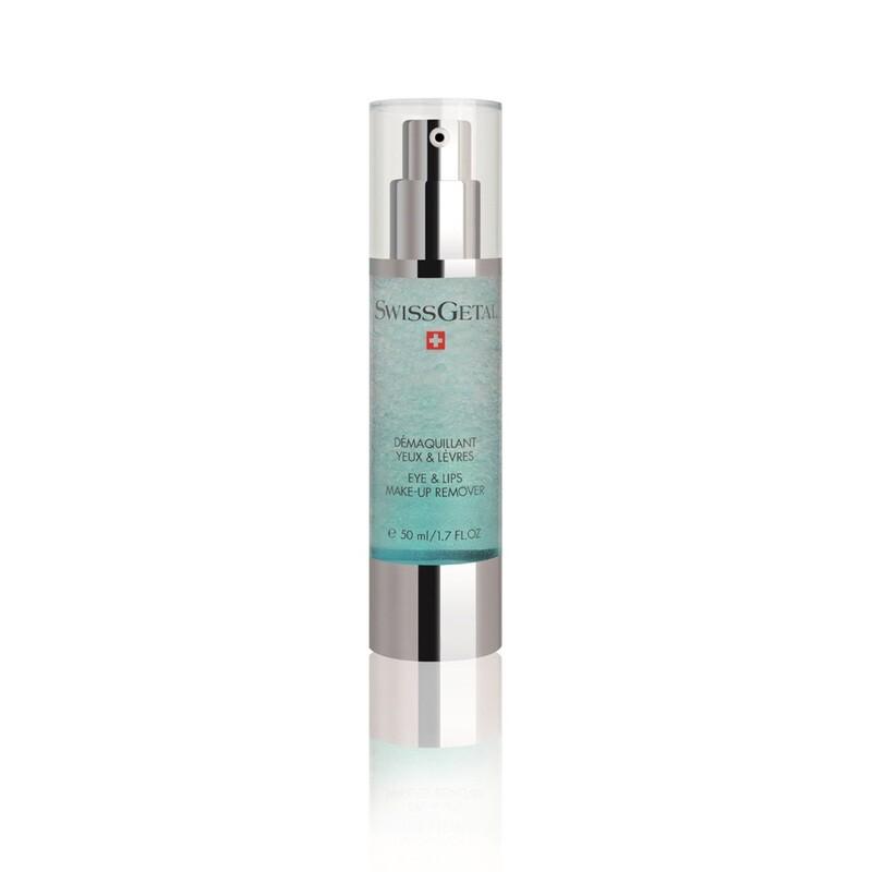 Крем для удаления макияжа с глаз и губ, Eye & Lips Make-Up Remover, SwissGetal, 50 ml