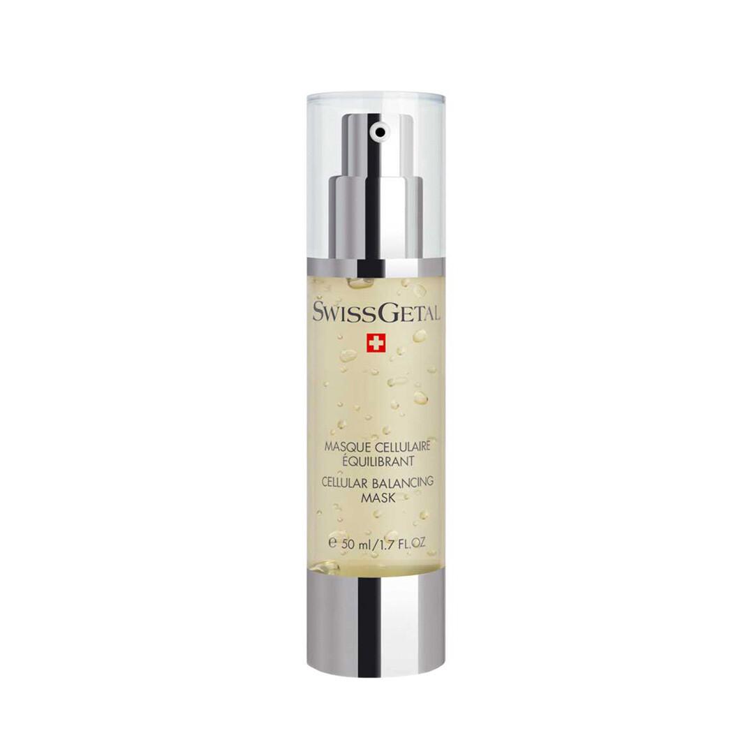 Комплексная маска для лица, восстанавливающая баланс, Cellular Balancing Mask, SwissGetal, 50 ml
