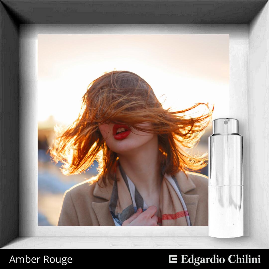 Amber Rouge, Edgardio Chilini, vanilla amber fragrance