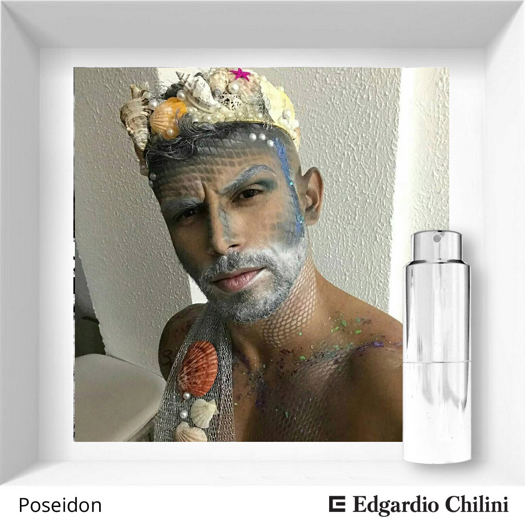 Edgardio Chilini, Poseidon, natural marine fragrance