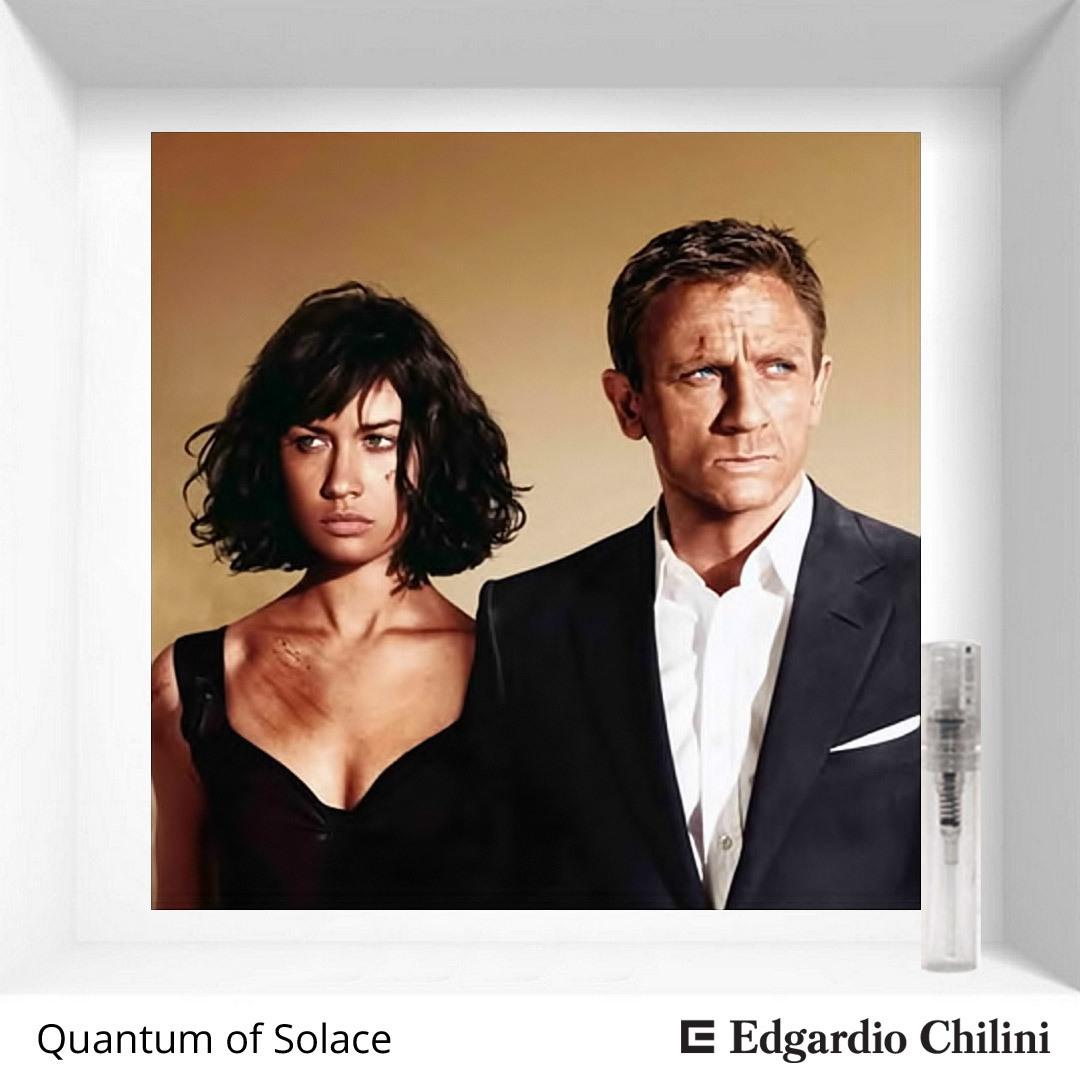 Статусный специевый аромат Quantum of Solace Edgardio Chilini 2 ml 00178