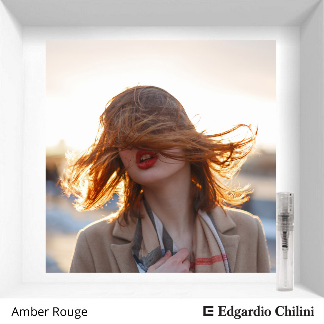 Ванильный амбровый аромат Amber Rouge Edgardio Chilini 2 ml 00188