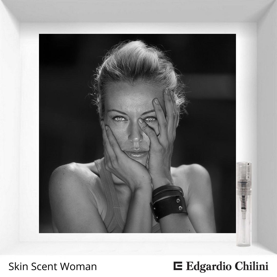 Сэмпл цветочно-мускусного аромата Skin Scent Woman Edgardio Chilini extract cologne 2 ml 00192