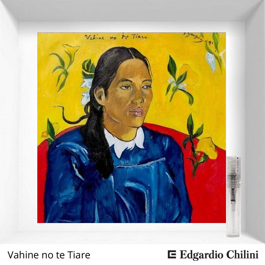 Цветочный смоляной аромат Vahine no te Tiare Edgardio Chilini 2 ml 00208