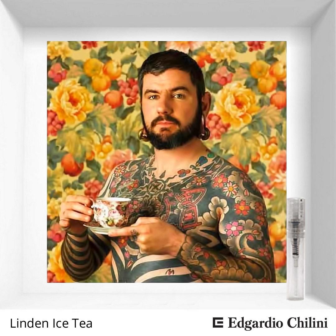 Цветочный пряный аромат Linden Ice Tea Edgardio Chilini 2 ml 00209