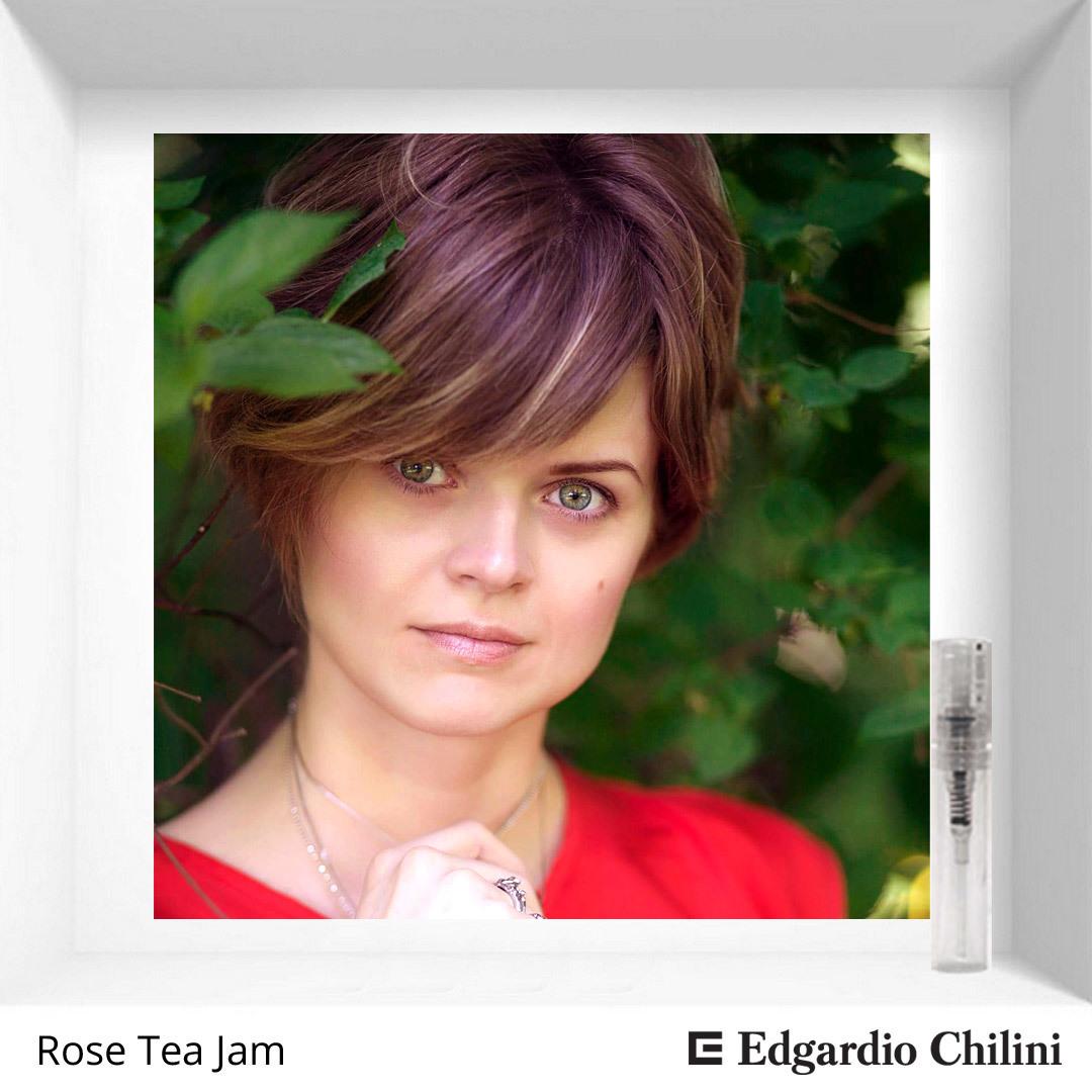 Карамельный розовый аромат Rose Tea Jam Edgardio Chilini 2 ml 00211