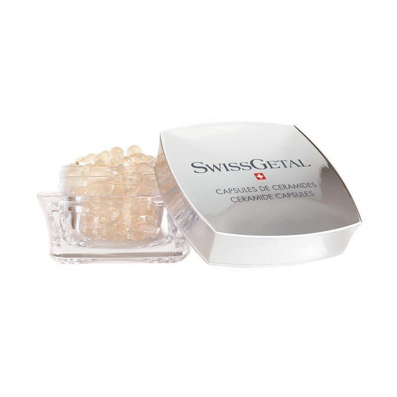 Капсулы с керамидами Ceramide Capsules, SwissGetal, 60 x 0.34 ml