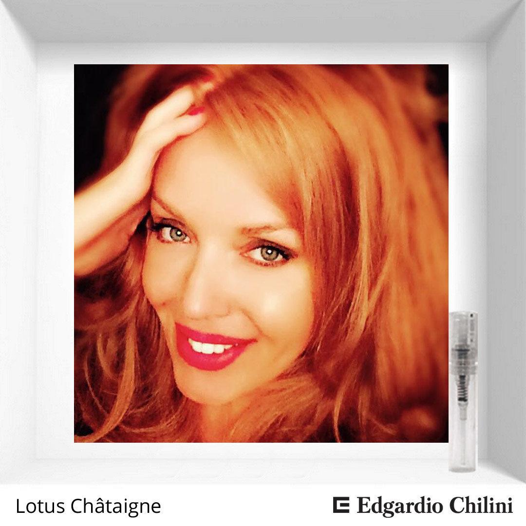Сладкий свежий аромат Lotus Châtaigne Edgardio Chilini 2 ml 00325