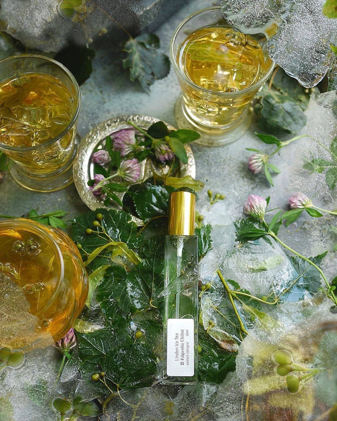 Цветочный аромат Linden Ice Tea Edgardio Chilini