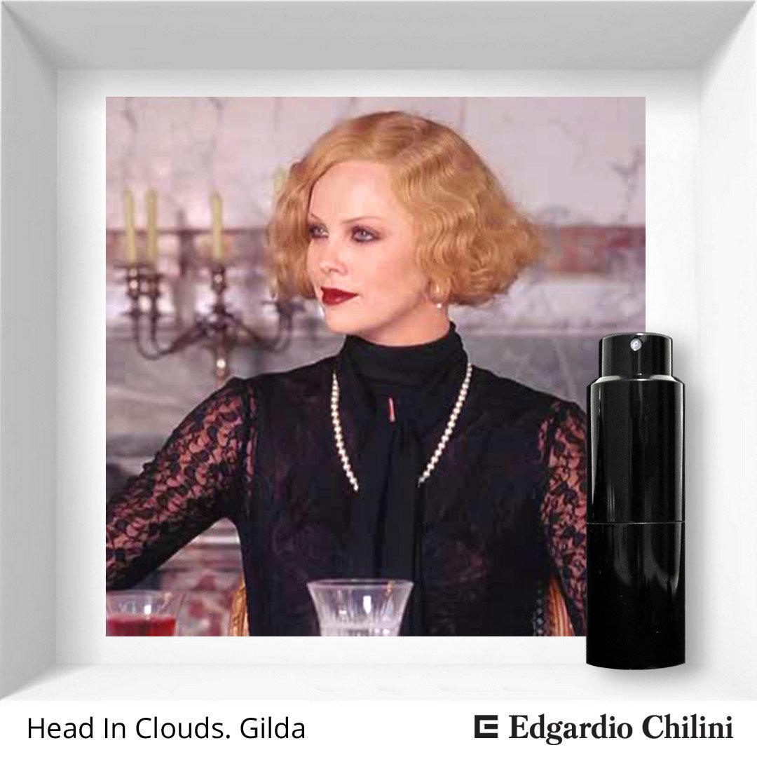 Edgardio Chilini, Head In The Clouds. Gilda, floral aldehyde fragrance