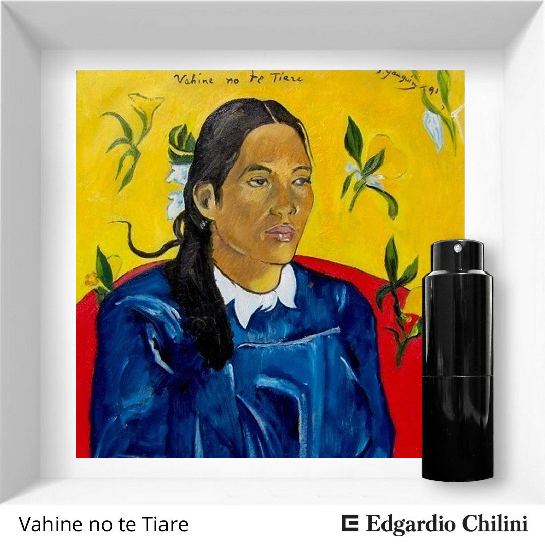 Edgardio Chilini, Vahine no te Tiare, floral resinous fragrance