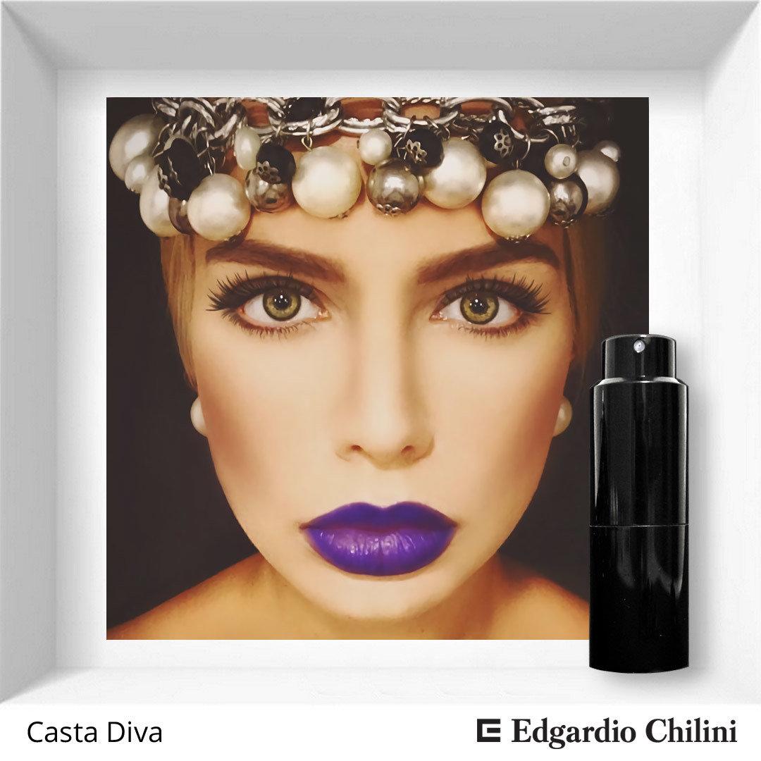 Цветочный фруктовый аромат Casta Diva, Edgardio Chilini