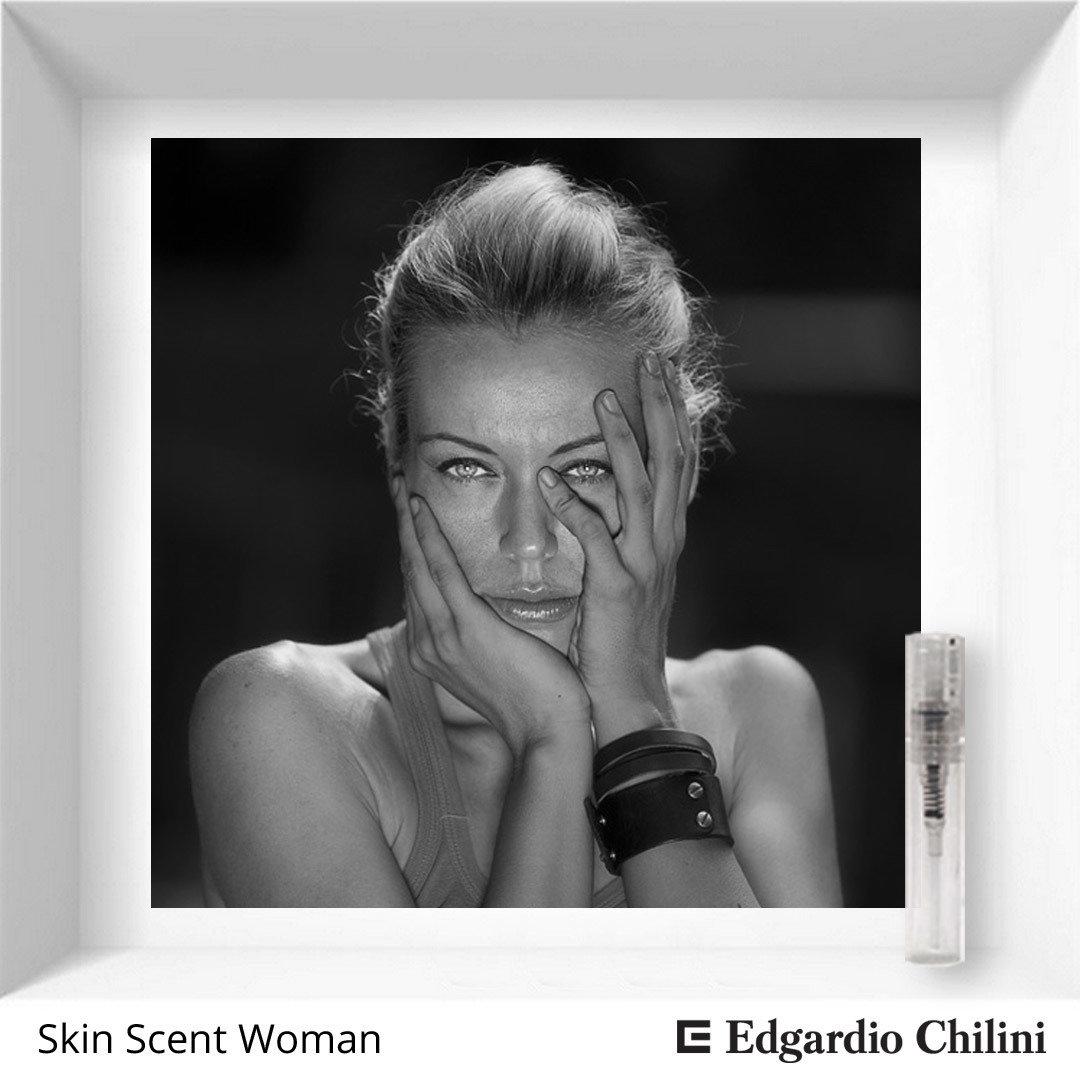 Сэмпл цветочно-мускусного аромата Skin Scent Woman Edgardio Chilini 2 ml