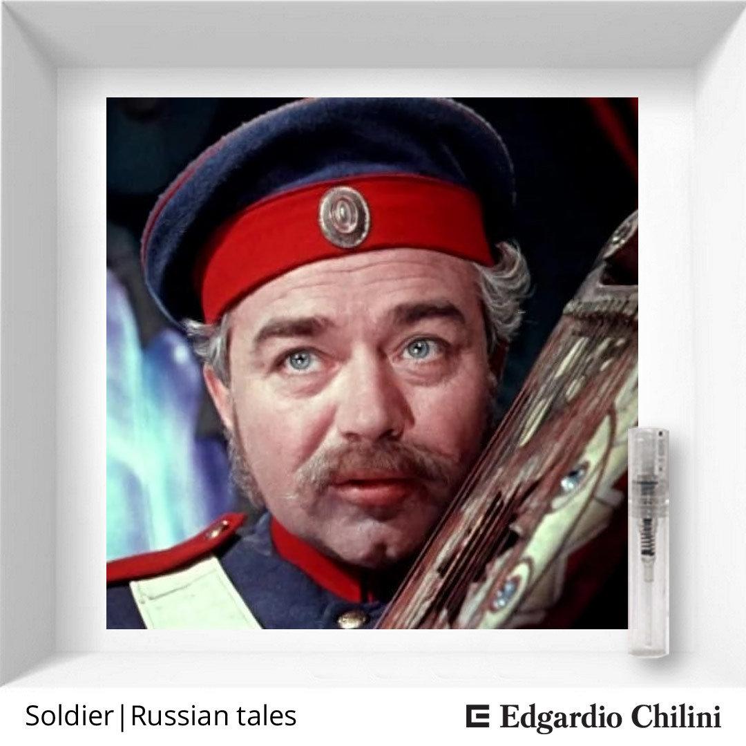 Смолистый фруктовый аромат Soldier | Russian tales, Edgardio Chilini, 2 ml