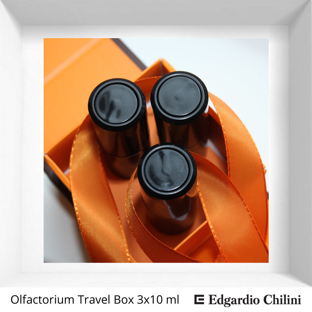 A set of travel bottles with a fragrance of your choice Olfactorium Travel Box 3x10ml