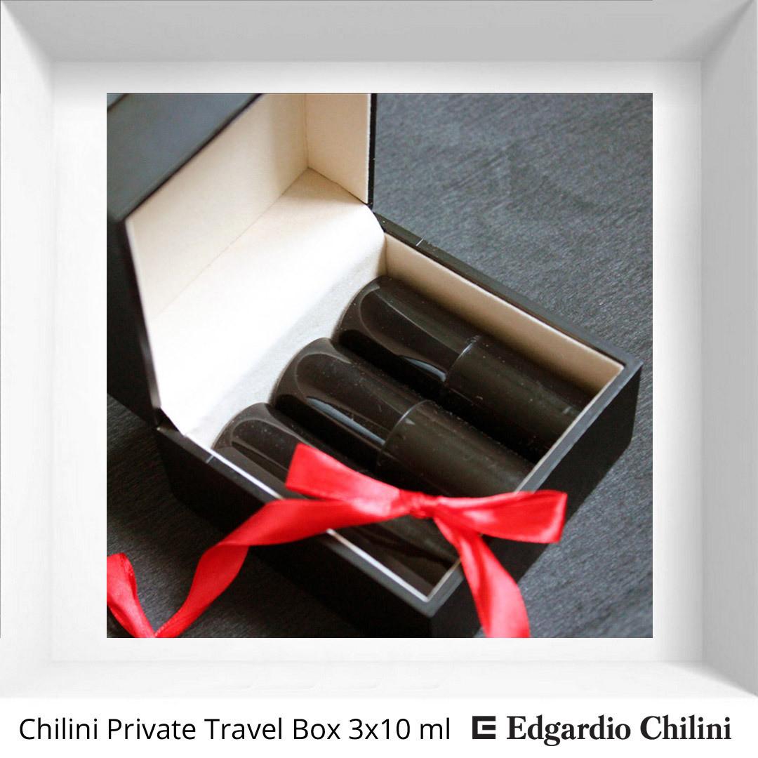 Набор тревел-флаконов с ароматом на выбор Chilini Private Travel Box 3 х 10 ml