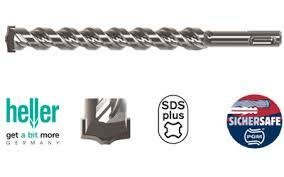 Alpen 13.0mm x 260mm SDS Plus Hammer Masonry Drill Brick Concrete Drilling