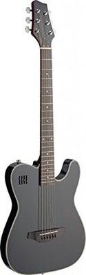 James Neligan Electric solid body folk guitar with cutaway, Black
