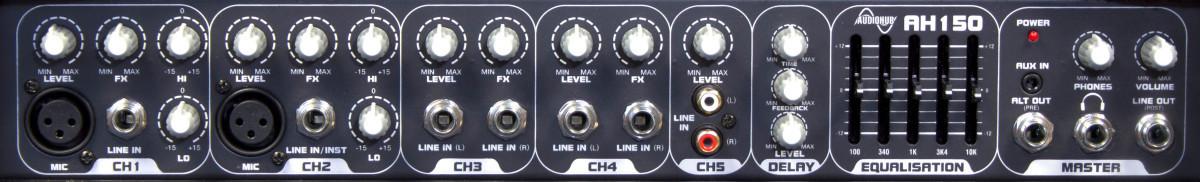 Laney Audiohub AH150 - Multi Instrument Amplifier, Guitar/Bass/Keyboard - 150 Watts
