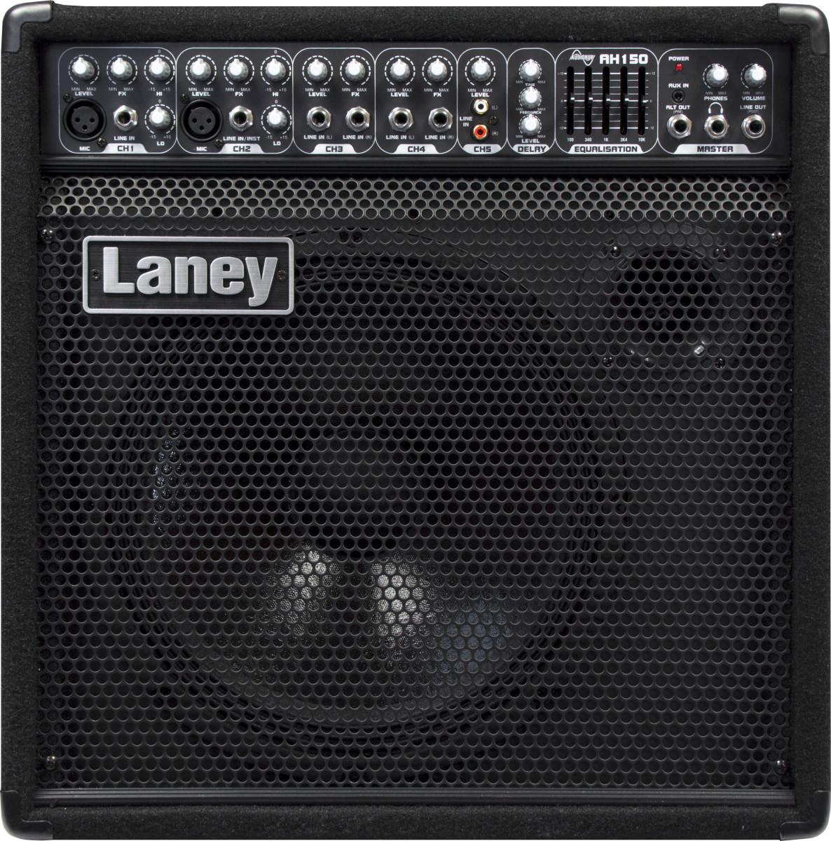 Laney Audiohub AH150 - Multi Instrument Amplifier, Guitar/Bass/Keyboard - 150 Watts 00287