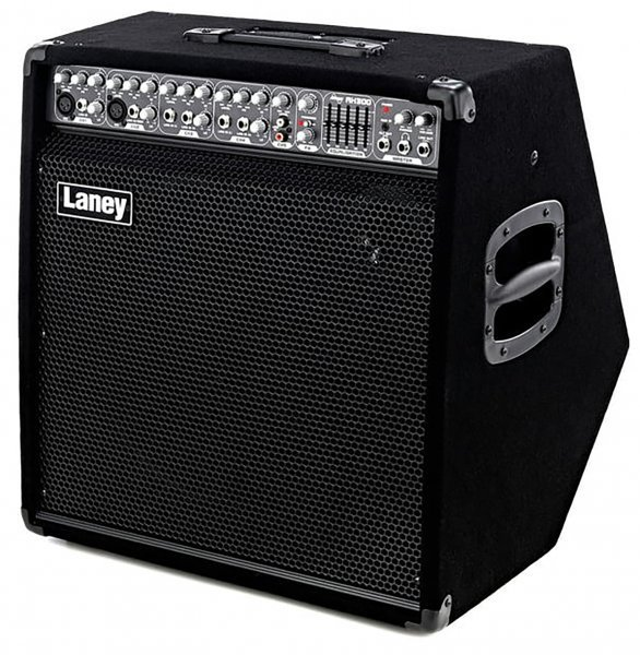 "Laney Audiohub Combo AH300, 300-Watt 1x15"", 5-Channel Guitar/Bass/Keyboard Amp / Mixer 00288"