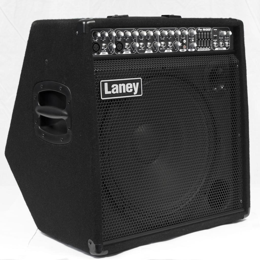 "Laney Audiohub Combo AH300, 300-Watt 1x15"", 5-Channel Guitar/Bass/Keyboard Amp / Mixer"