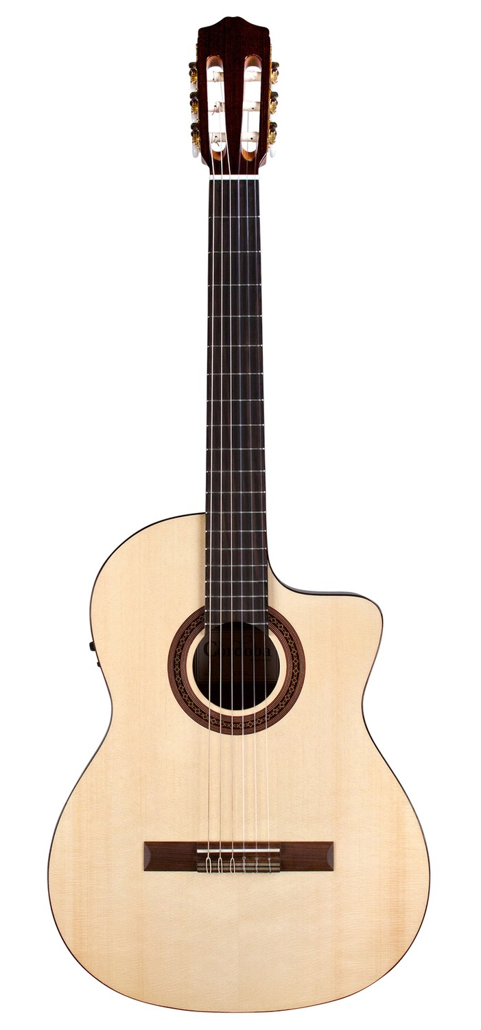 Cordoba C5-CE Spruce - Solid Englemann Spruce top, Mahogany back/sides, 650mm Scale Length, Fishman Electronics