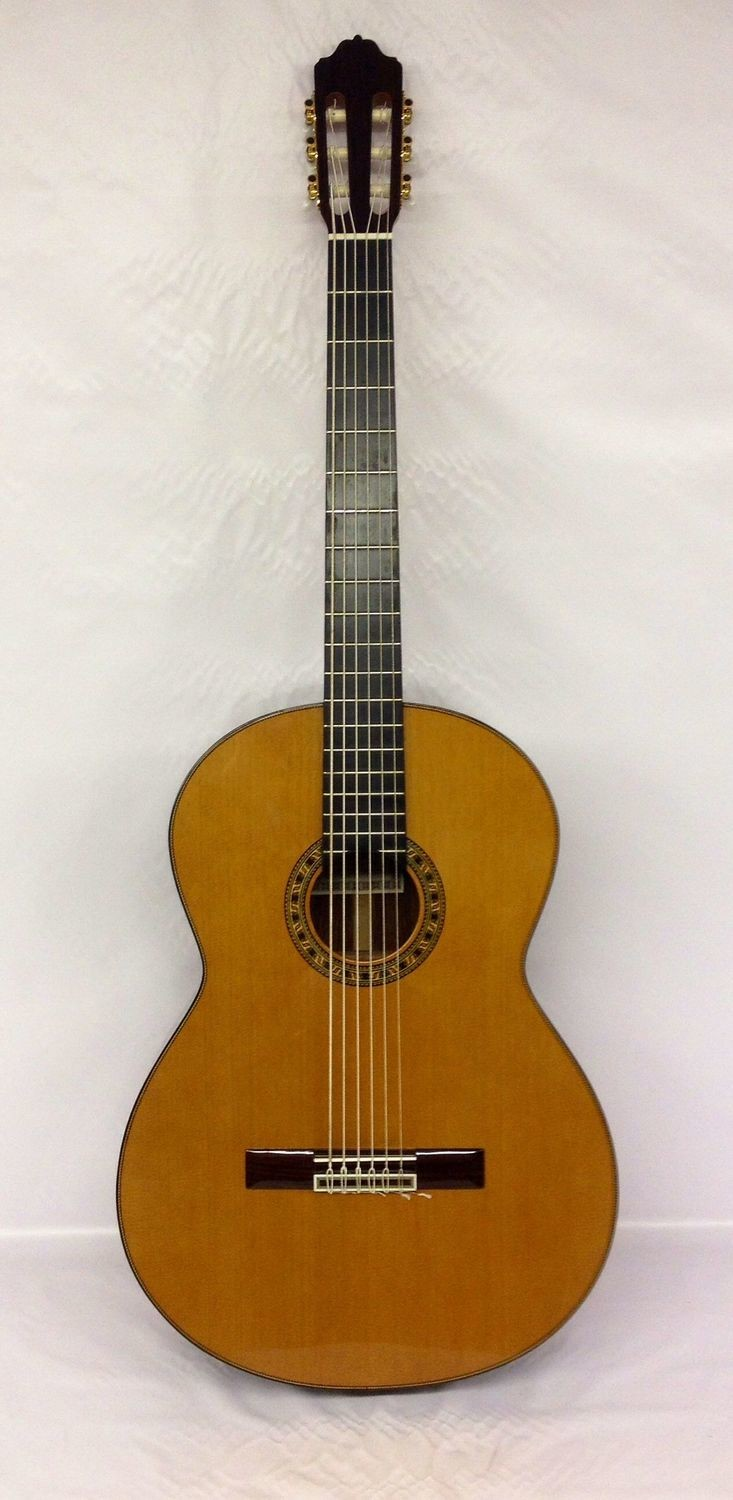 Estevé PS70 - 6 String Classical Bass Guitar - All Solid/Cedar/Indian Rosewood - 700mm Scale Length