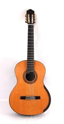 Calido CG 3222-CAX - Left Handed - Solid Cedar Top - Lattice Braced, Arched Indian Rosewood Back