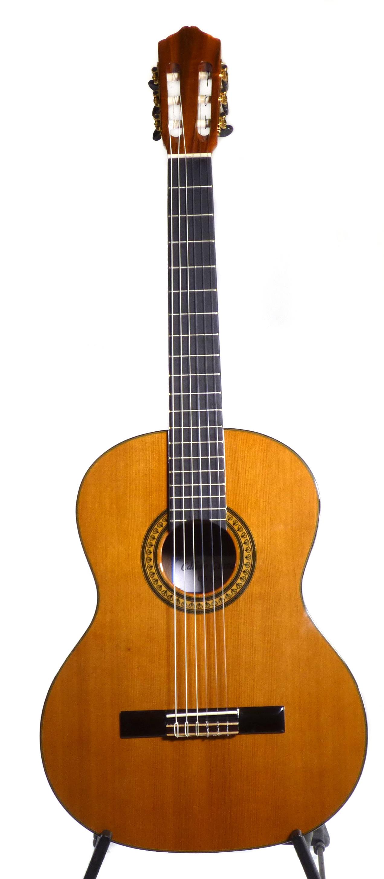 Calido CG 1450 - Classical Guitar - Solid Cedar top, Koa Back/Sides 00295