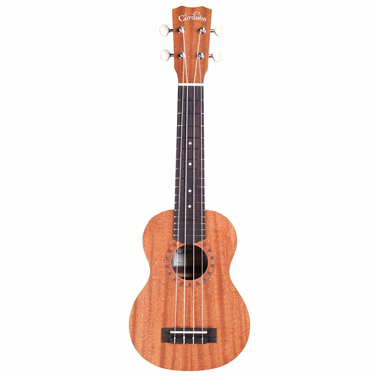 Cordoba Soprano Ukulele Player Pack- Includes Case and Accessories