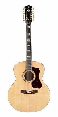 Guild F-512E Maple - Jumbo 12 String Acoustic Electric - Made in the USA - 2019