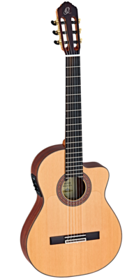 Ortega Ben Woods Signature Flamenco Negra (BWSM) - Made in Spain