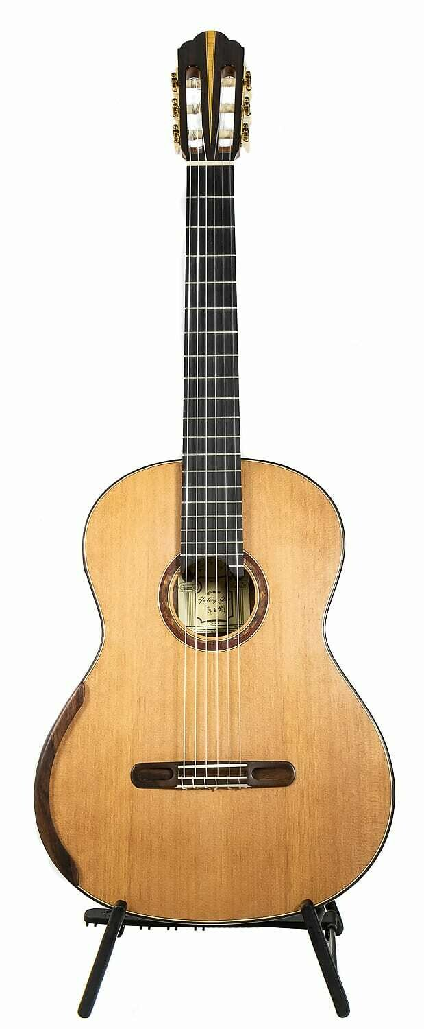 Yulong Guo Concert Model - Cedar Double Top, solid Koa Back/Sides - 650mm Scale Length - 2019