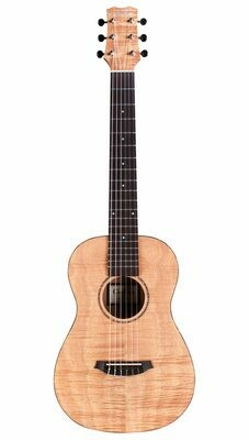 Cordoba Mini II Flamed Mahogany - Acoustic Electric Travel Guitar