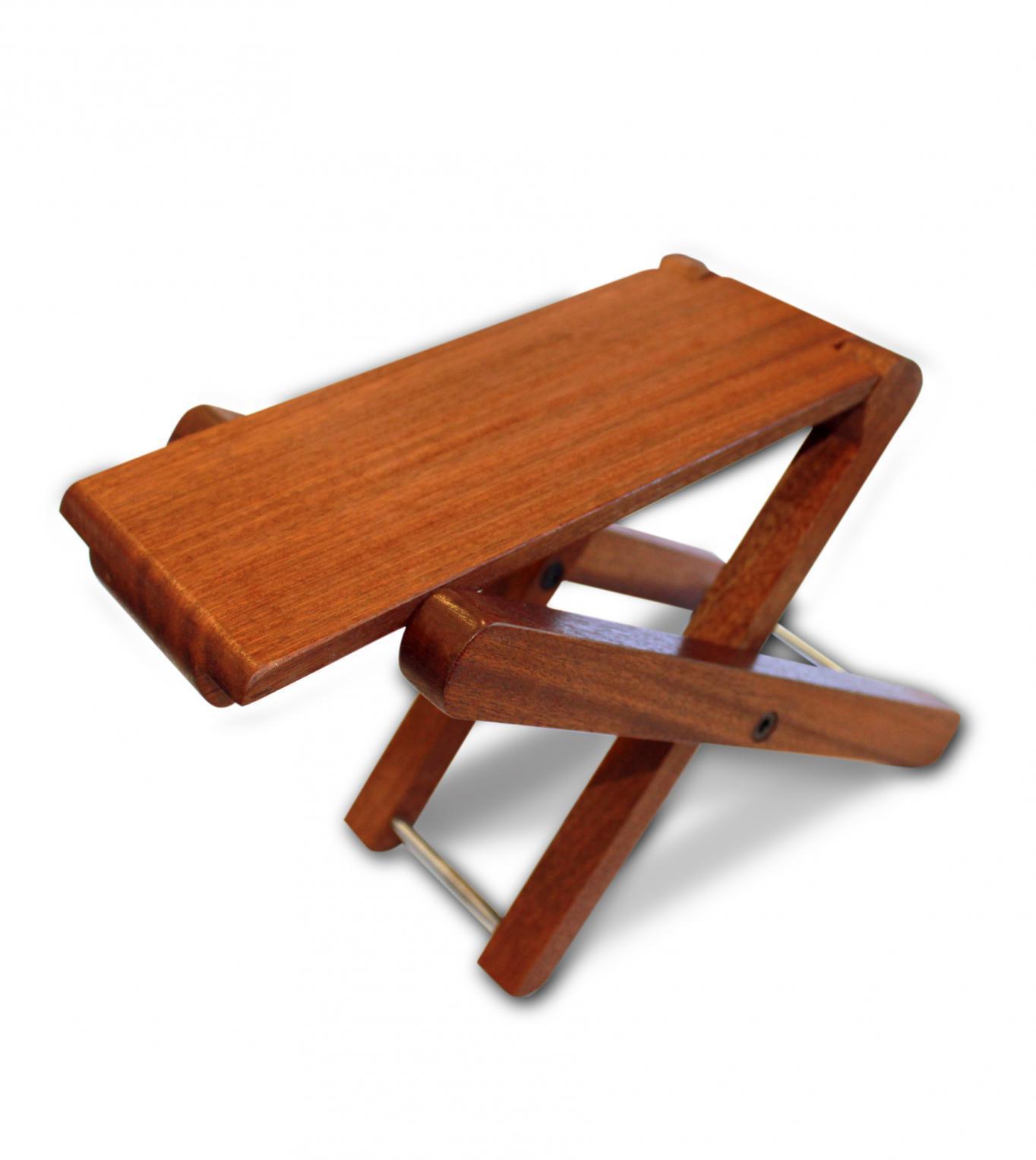Cordoba Folding Footstool - Solid Mahogany GR-4L3J-3H9B