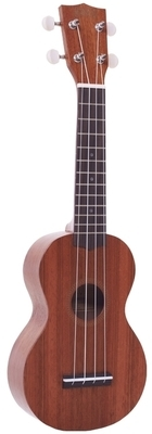 Mahalo Soprano Ukulele - Java Series - Transparent Brown - MJ1TBR-U