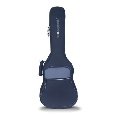 Crossrock CRSG106CTBG - 10mm Padded Gig Bag - ¾ Size Classical Guitar - 36-Inch Acoustic Guitar - Black/Grey