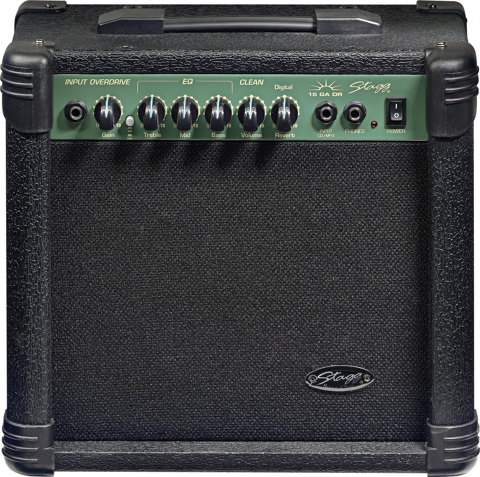 Stagg 15 GA DR - Digital Reverb Electric Guitar Amplifier 00144