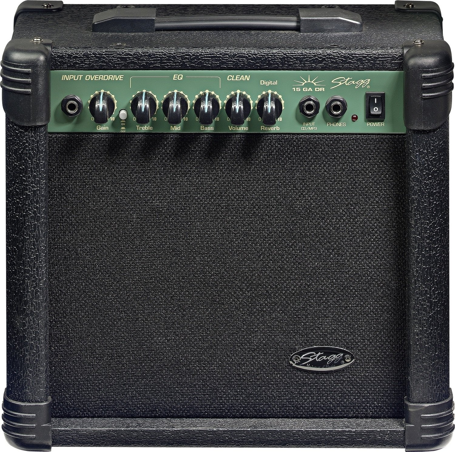 Stagg 15 GA DR - Digital Reverb Electric Guitar Amplifier