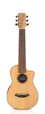 Cordoba Mini SM-CE - Solid Cedar Top - Travel Guitar - 510mm Scale Length