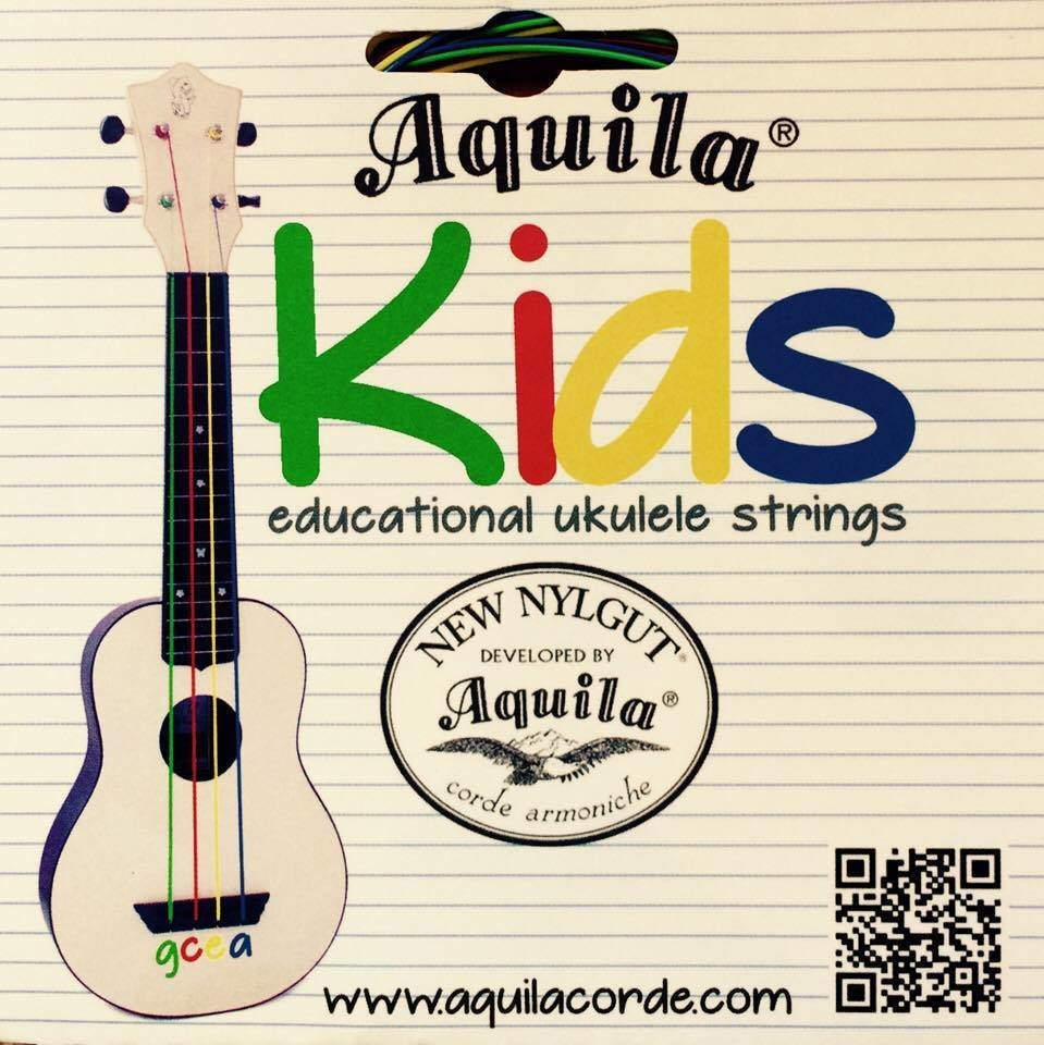 Aquila Kids Educational Ukulele Strings