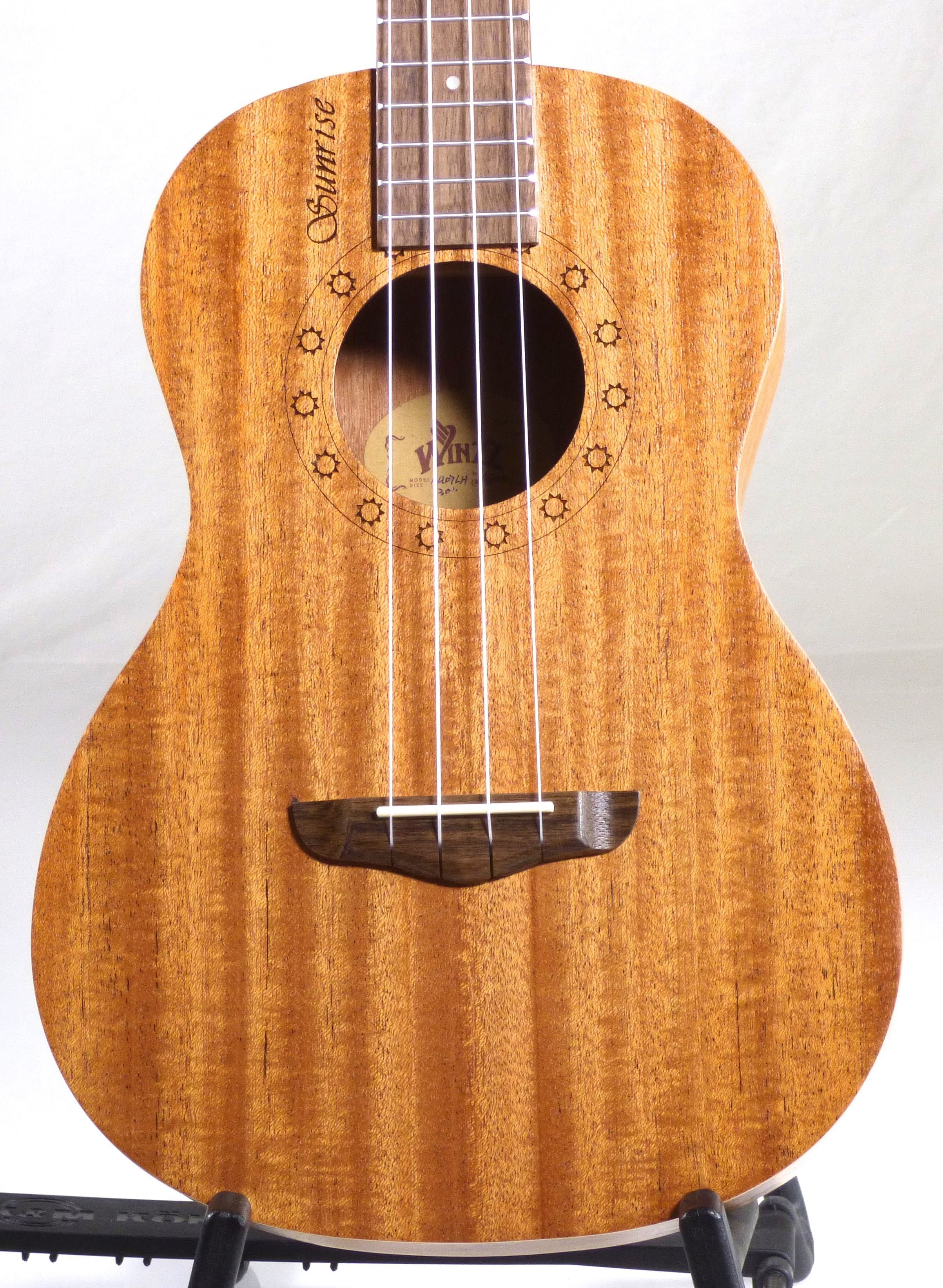 Sunrise Series Ukuleles - Available in Soprano, Concert, Tenor, and Baritone Sizes