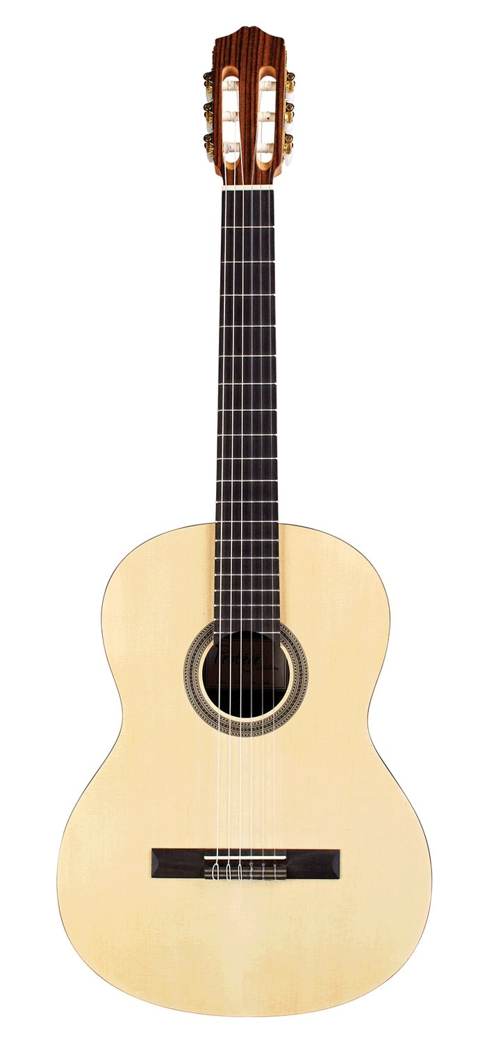 Limited Time Student Special- Cordoba C1M with Accessories - Quality beginner Classical Guitar - Bundle Includes Cherub Digital Tuner, Stagg Footstool, and Non-padded Standard Gig Bag