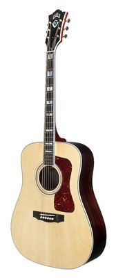 Guild D-55E Natural - LR Baggs Electronics - Made in USA - Steel String Acoustic Electric Guitar