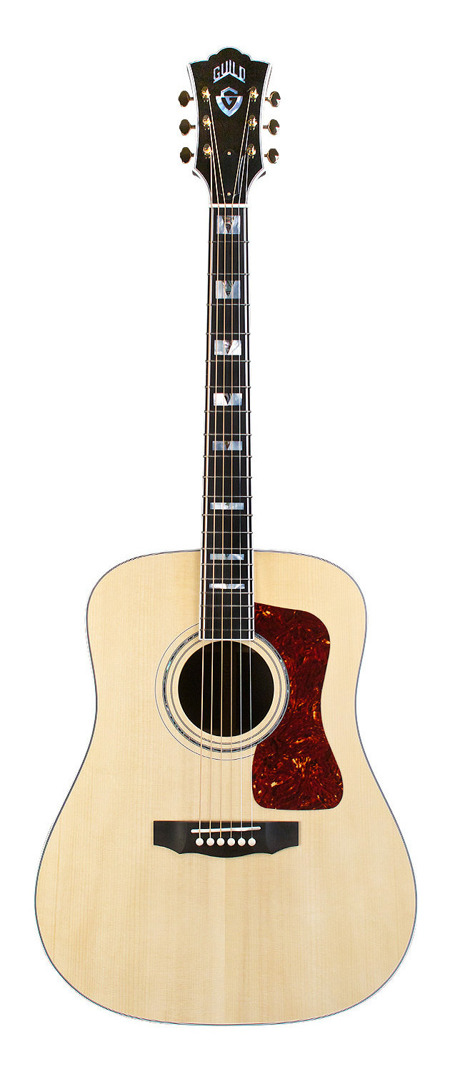 Guild D-55 Dreadnought - Natural - Steel String Acoustic Guitar - Handmade in USA