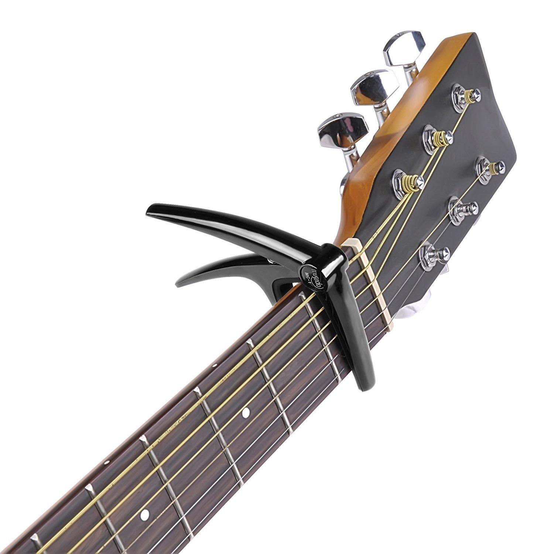 Acoustic/Electric Guitar Capo - Musedo MC1 - Black