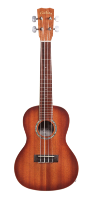 Cordoba 15CM-E with Sunburst Edge - Mahogany Ukulele with Electronics and Cordoba Deluxe Gig Bag and Cordoba Digital Tuner