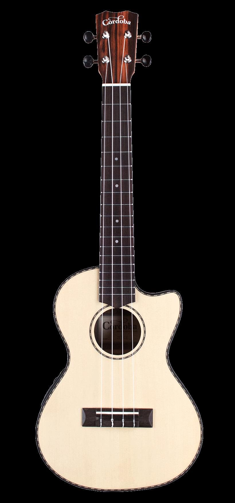 Cordoba 21T-CE Tenor Cutaway Acoustic Electric Ukulele 00249